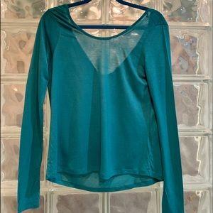 Vero Moda Turquoise Blouse.  Size XS.